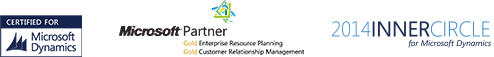 Microsoft gold partner - Microsoft inner circle for Microsoft Dynamics - Certified Microsoft Dynamics